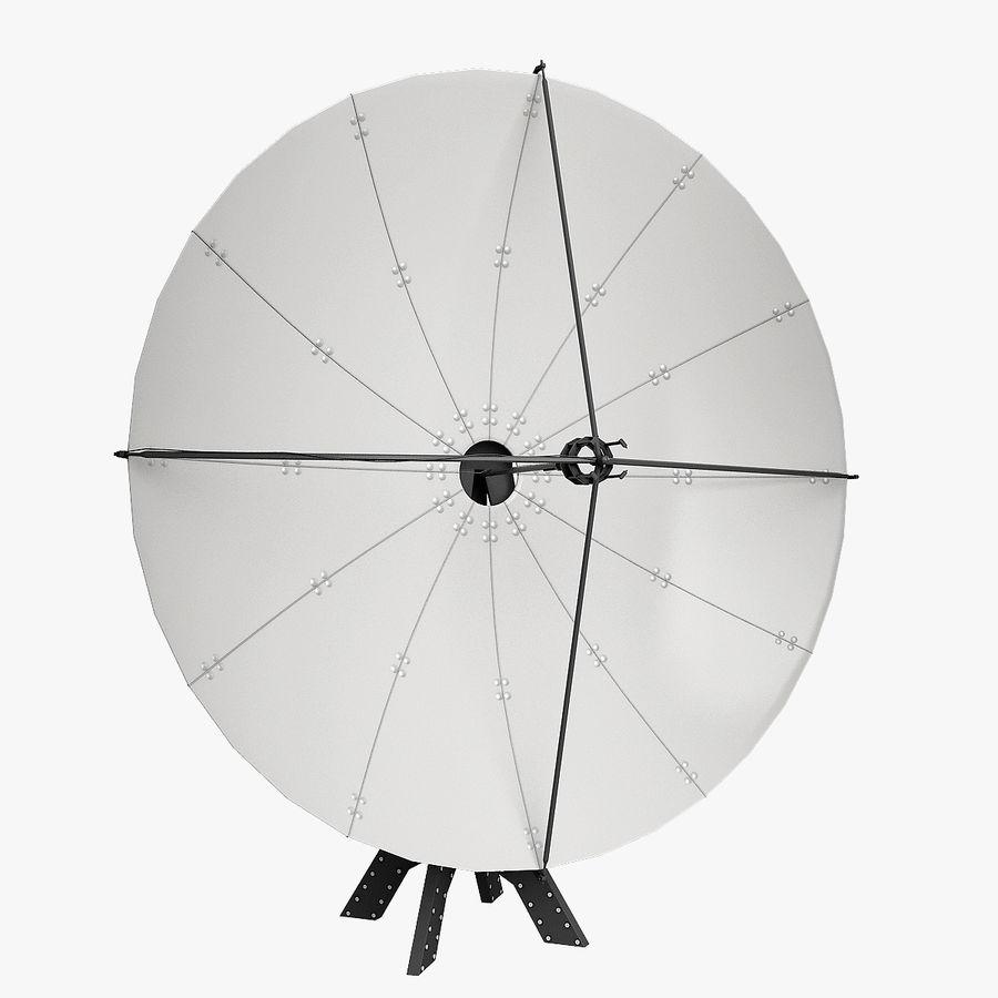 Satélite da antena royalty-free 3d model - Preview no. 4