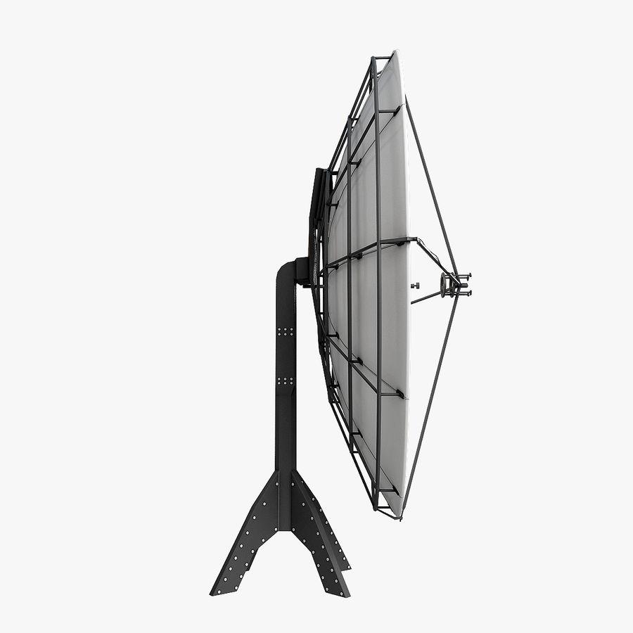 Satélite da antena royalty-free 3d model - Preview no. 5