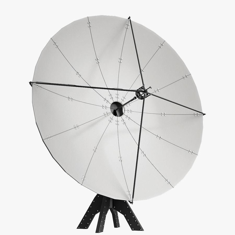 Satélite da antena royalty-free 3d model - Preview no. 1