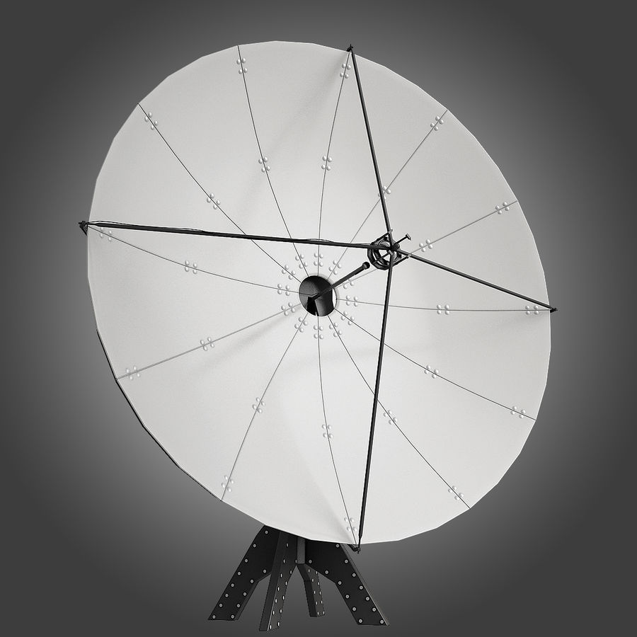 Antenna Satellite royalty-free 3d model - Preview no. 2