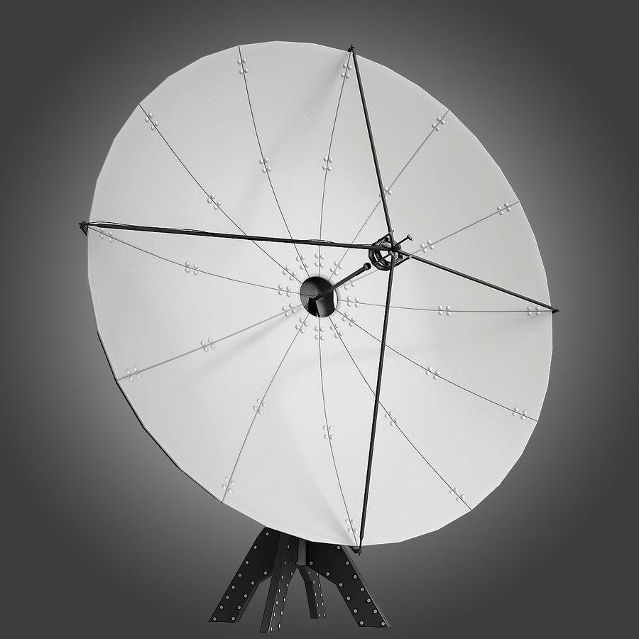 Satélite da antena royalty-free 3d model - Preview no. 2