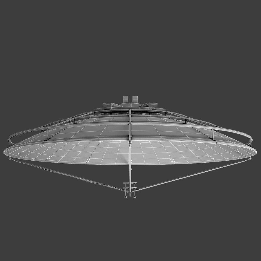 Satélite da antena royalty-free 3d model - Preview no. 9
