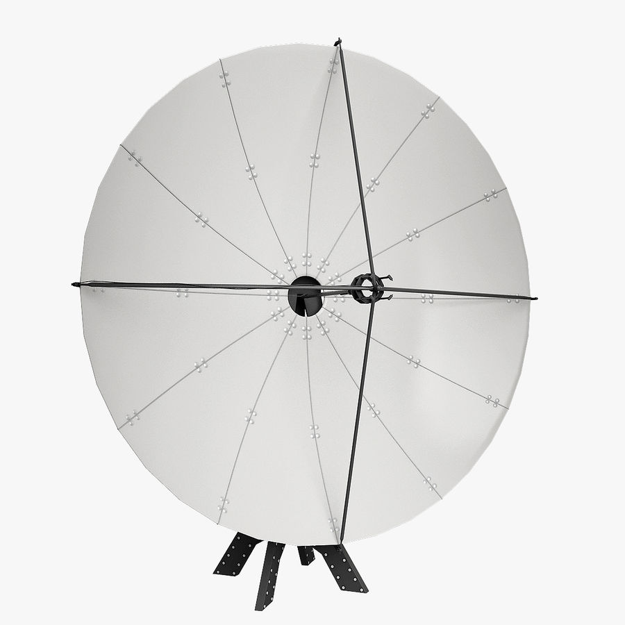 Antenna Satellite royalty-free 3d model - Preview no. 4