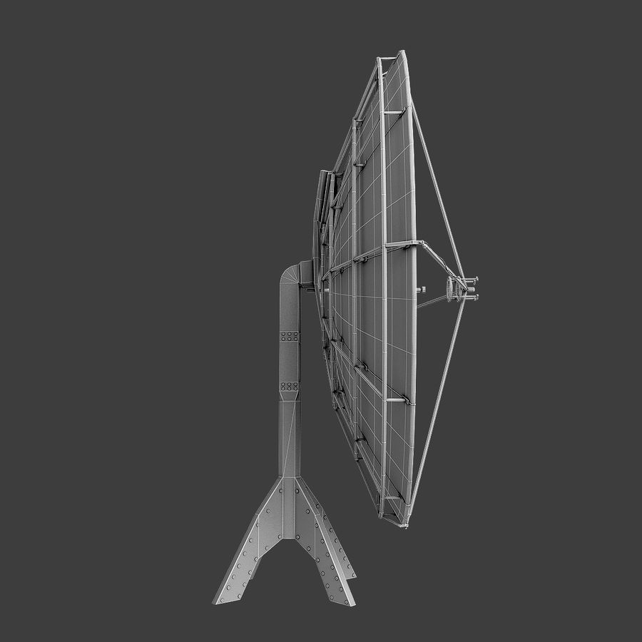 Antenna Satellite royalty-free 3d model - Preview no. 10