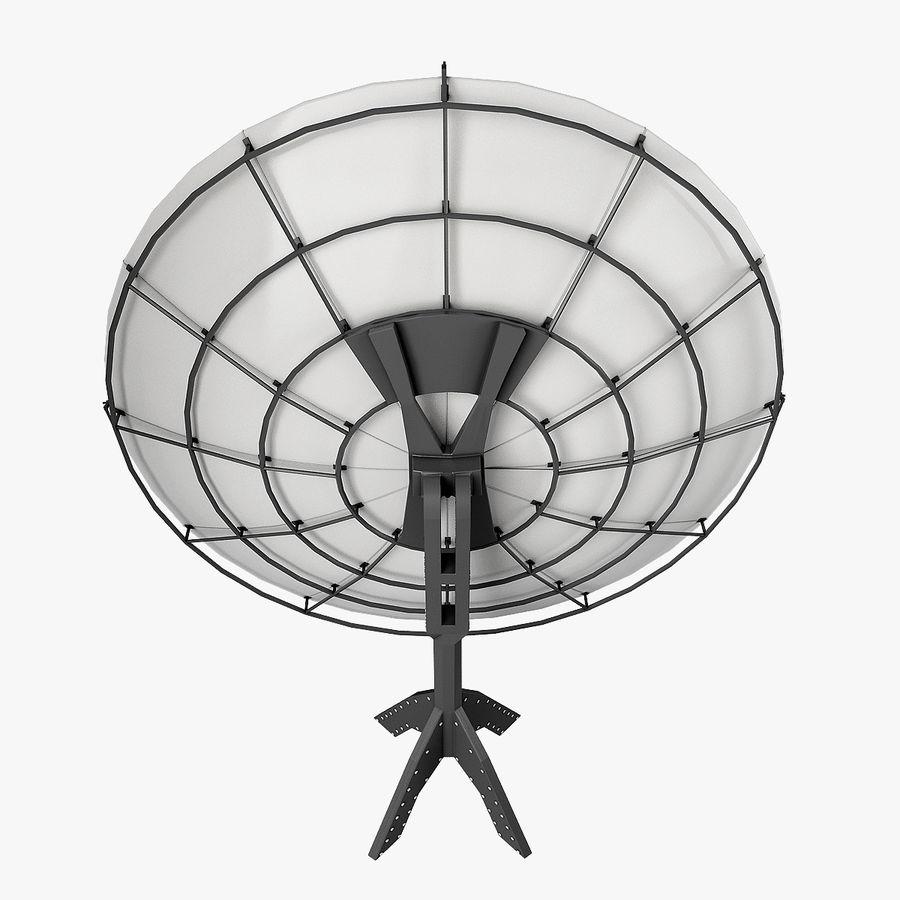 Satélite da antena royalty-free 3d model - Preview no. 3