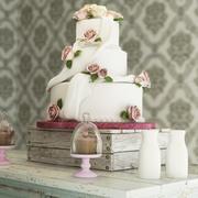 Bröllopstårta 05 3d model