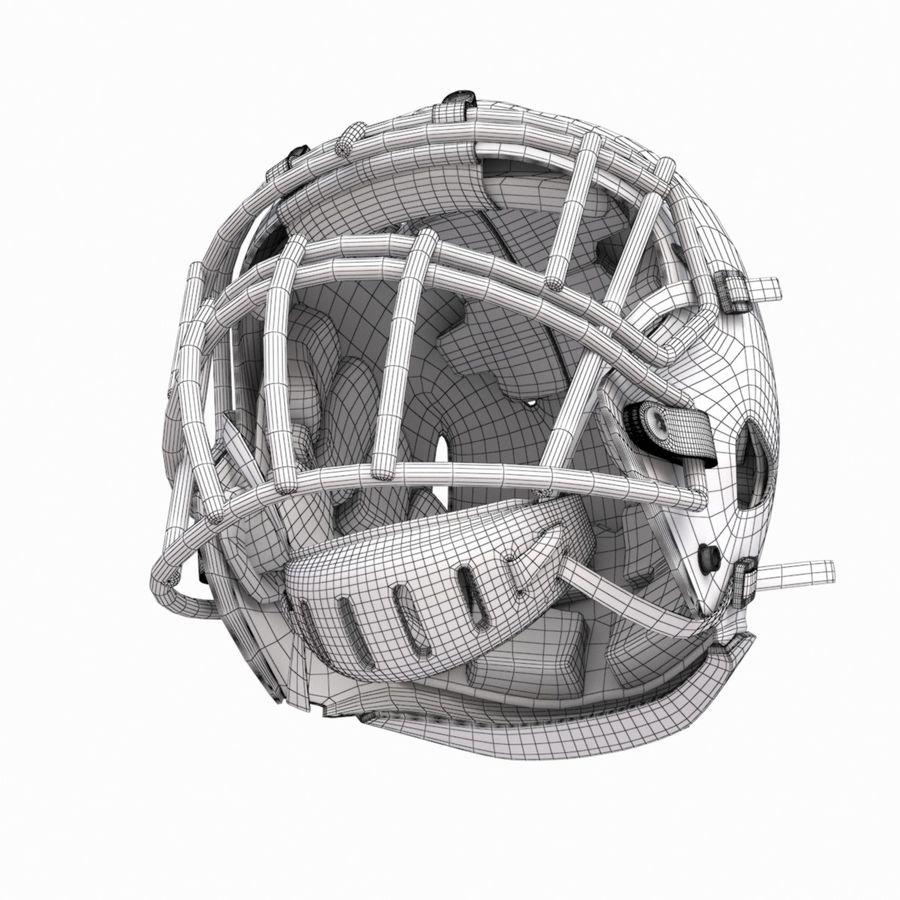 Casque de football américain royalty-free 3d model - Preview no. 16