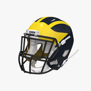 Amerikanischer Football Helm 3d model