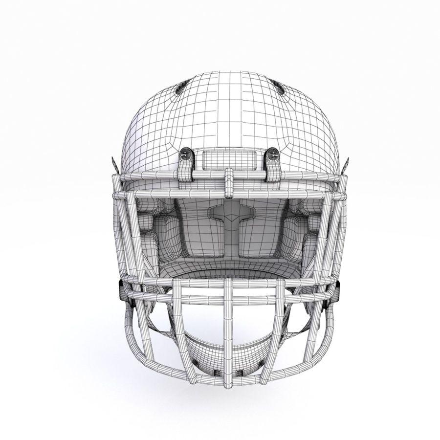 Casque de football américain royalty-free 3d model - Preview no. 17