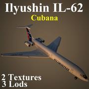 IL62 CUB 3d model