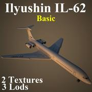 IL62 Grundläggande 3d model
