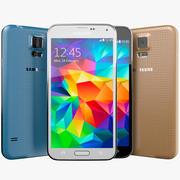 Samsung Galaxy S5 Smartphone 3d model