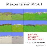 Mekon Terrain MC-01 3d model