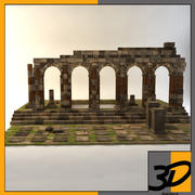 Ruinas romanas modelo 3d