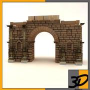 Roma kapısı 3d model