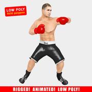 Boksör Animasyonlu V2 3d model