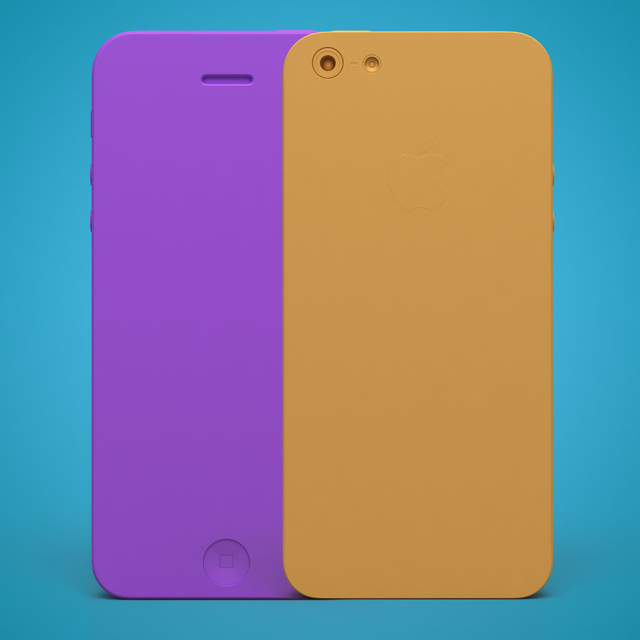 iphone 5 royalty-free 3d model - Preview no. 29