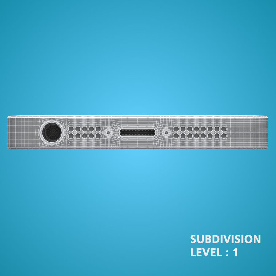 iphone 5 royalty-free 3d model - Preview no. 26