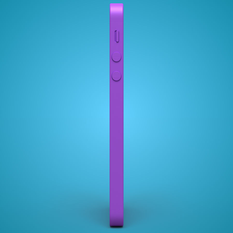 iphone 5 royalty-free 3d model - Preview no. 32