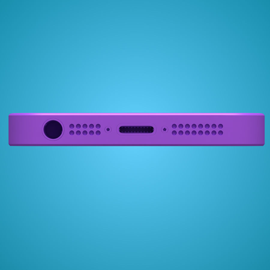 iphone 5 royalty-free 3d model - Preview no. 31