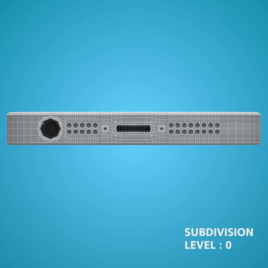 iphone 5 royalty-free 3d model - Preview no. 25