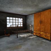 Abandoned Room Interior 3d model