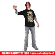 Metal Guy 3d model