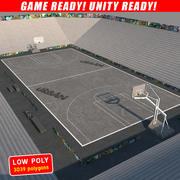 Баскетбольная улица 3d model
