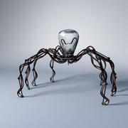 Mechanic robot spider 3d model