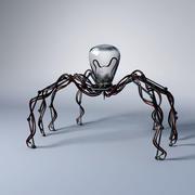 Araignée robot mécanicien 3d model