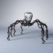 Mechaniker Roboterspinne 3d model