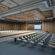 Sala Sceniczna 3d model