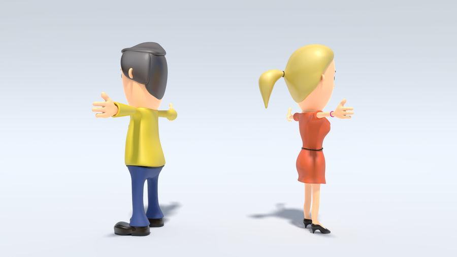 Kombipack für Jungen und Mädchen royalty-free 3d model - Preview no. 6