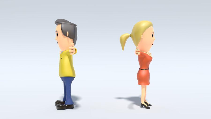 Kombipack für Jungen und Mädchen royalty-free 3d model - Preview no. 5