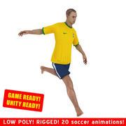 Strandvoetballer SPEL 3d model