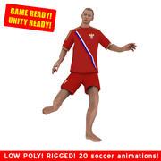 Strandvoetballer SPEL 2 3d model