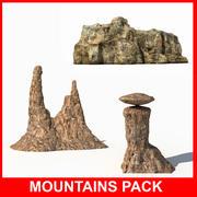 Berge Pack 3d model