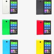 Nokia X & X + Alle kleuren 3d model