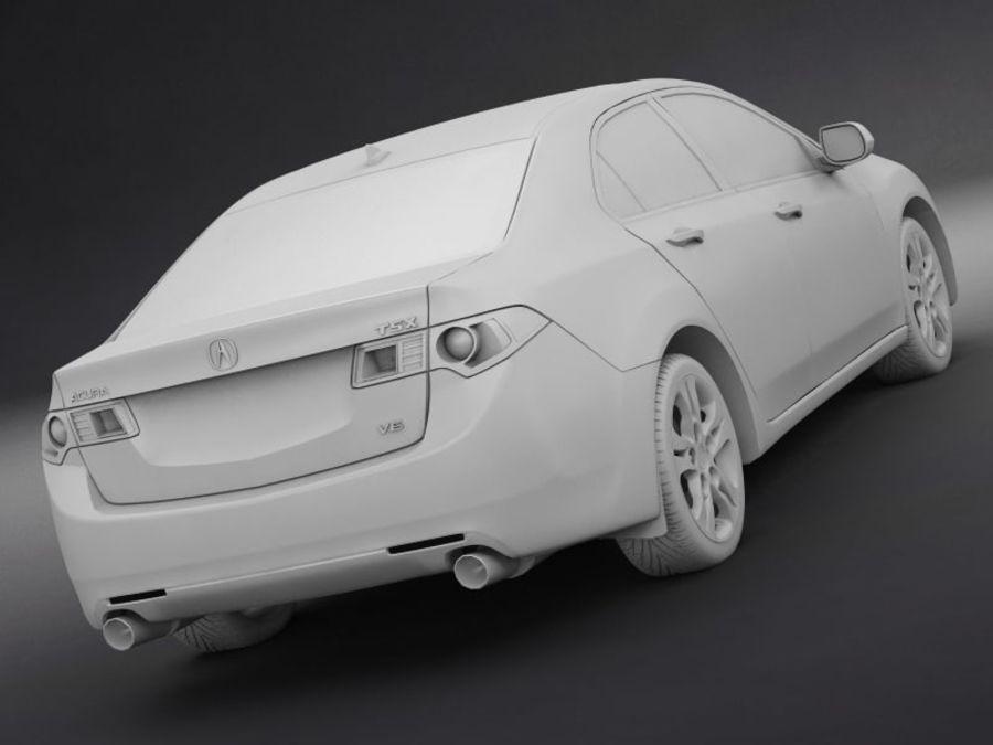 아큐라 TSX royalty-free 3d model - Preview no. 11