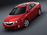 Acura TSX 3d model