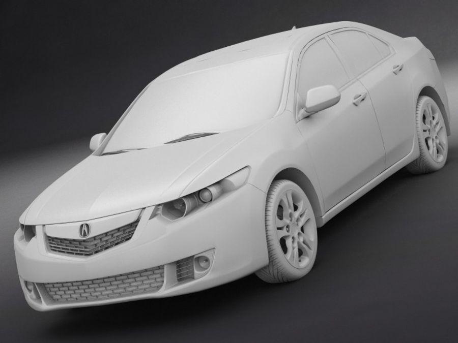 아큐라 TSX royalty-free 3d model - Preview no. 10