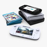 任天堂Wii U 3d model