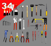 Obj Tool Collection Lo Poly 3d model