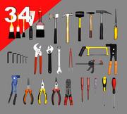 Obj Tools Collection 3d model