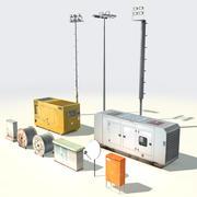 Fournitures électriques 3d model