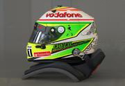 Casco motorsport di Sergio Perez in stile 2013 3d model