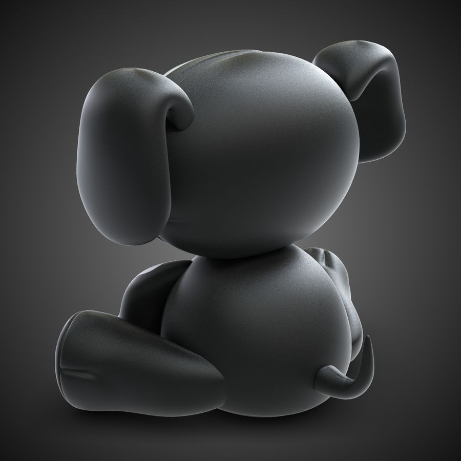 Collezione di giocattoli animali Skelanimals royalty-free 3d model - Preview no. 15