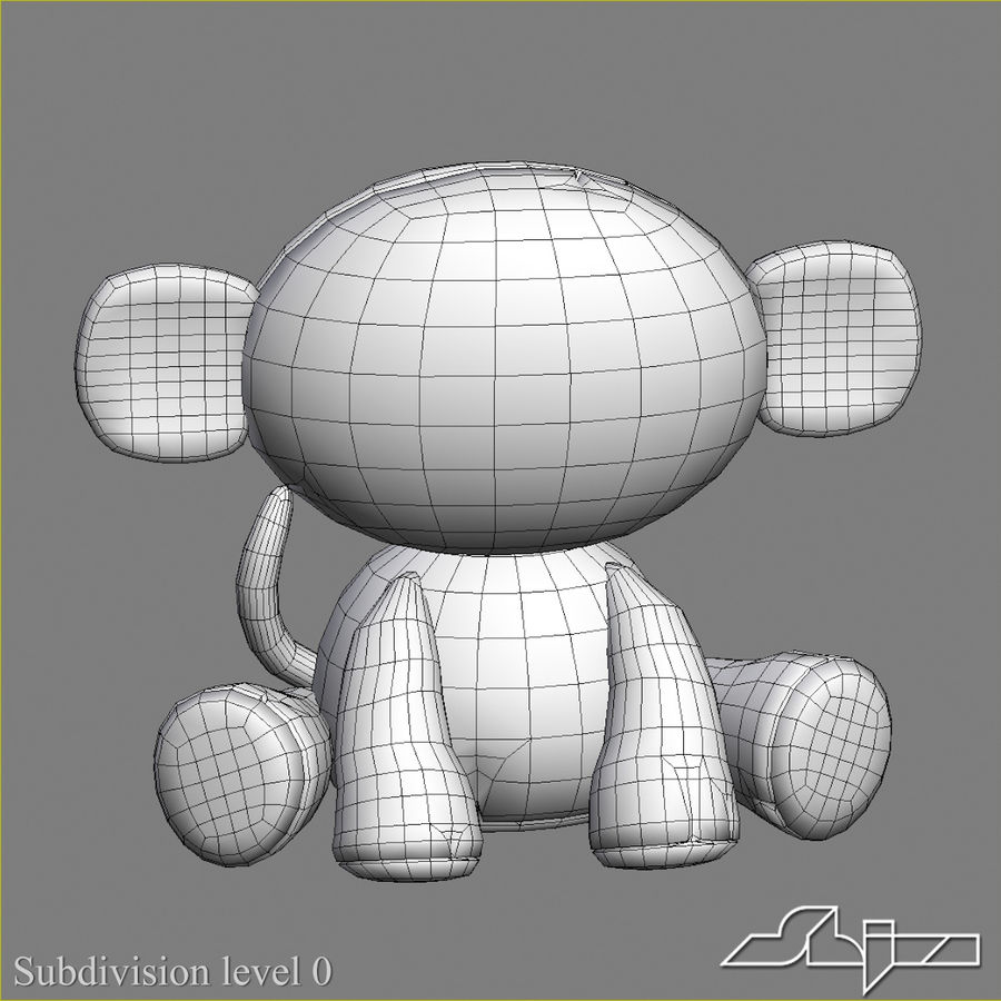Collezione di giocattoli animali Skelanimals royalty-free 3d model - Preview no. 1