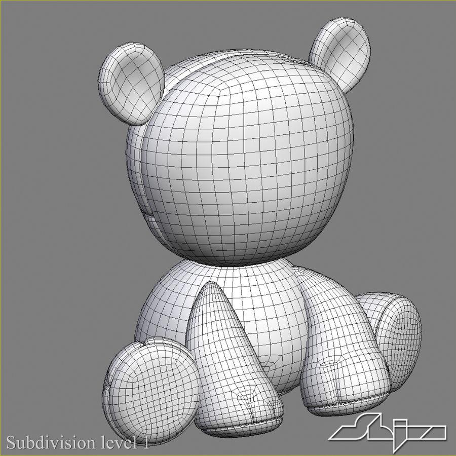 Collezione di giocattoli animali Skelanimals royalty-free 3d model - Preview no. 7