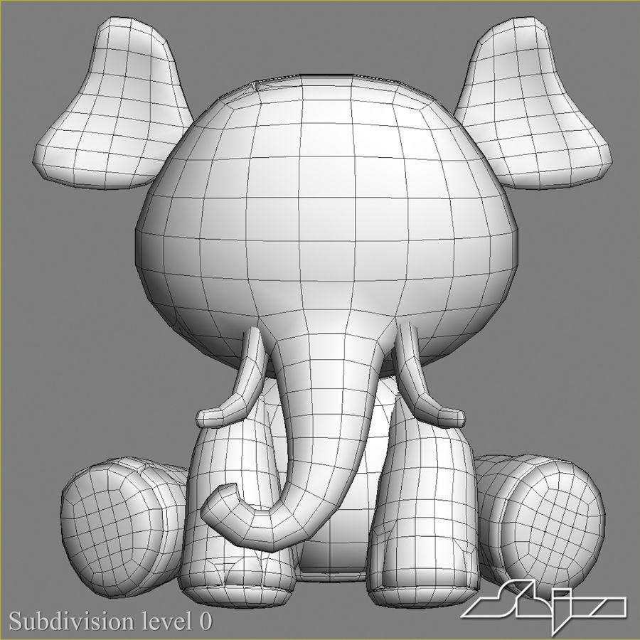 Collezione di giocattoli animali Skelanimals royalty-free 3d model - Preview no. 23